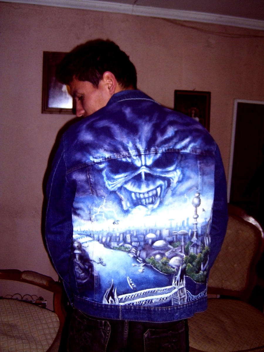 Brave New World IRON MAIDEN art in jacket 1 by ...