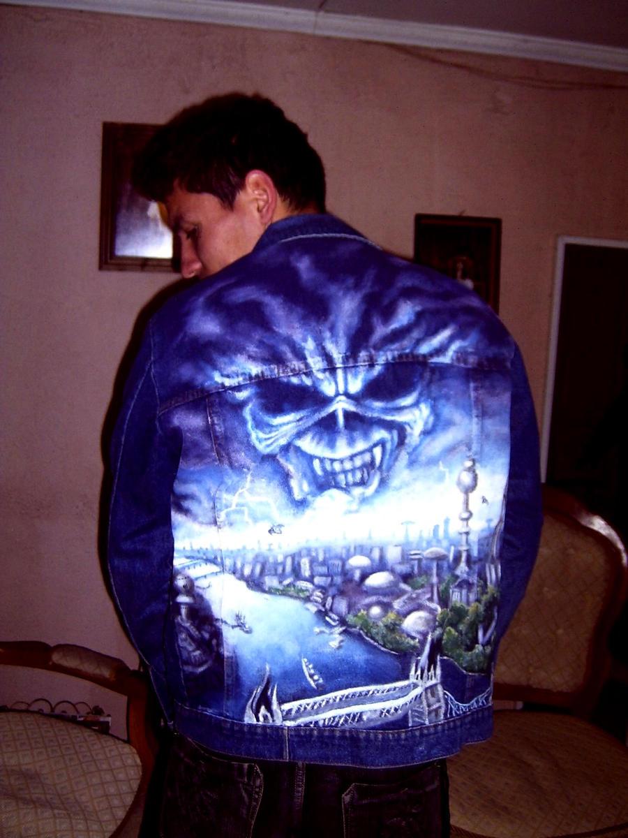Brave New World IRON MAIDEN art in jacket 1 by ...