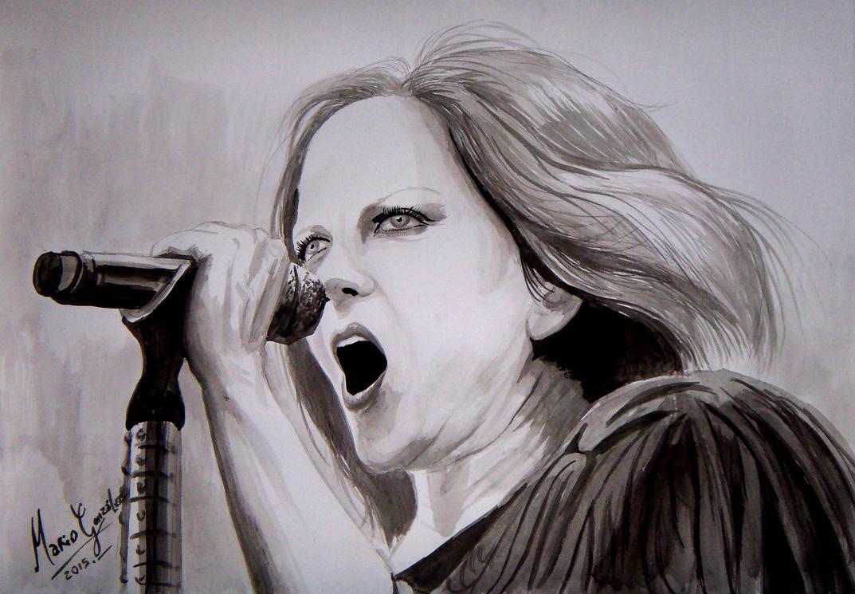 Shirley Manson by blackart2000