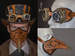 Steampunk/Wild West Plague Doctor