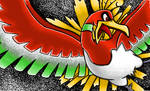 Ho-Oh: MS Paint