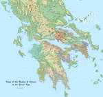 Some of the Realms of Greece in the Heroic Age