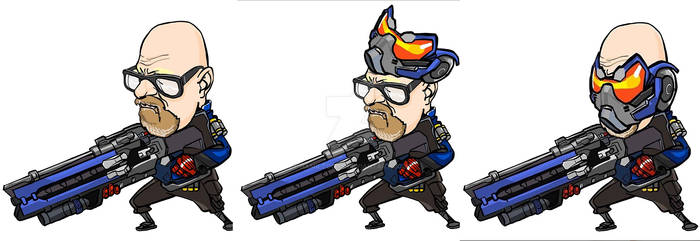 Soldier 76 i.e. Needed a laugh