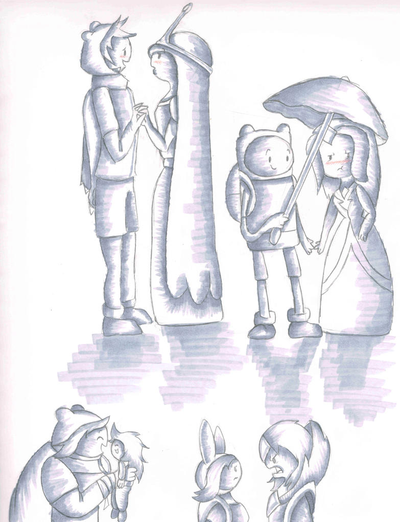Cute Couple Sketches Viewing Gallery