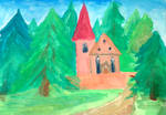 Church in the Forest (sketch)