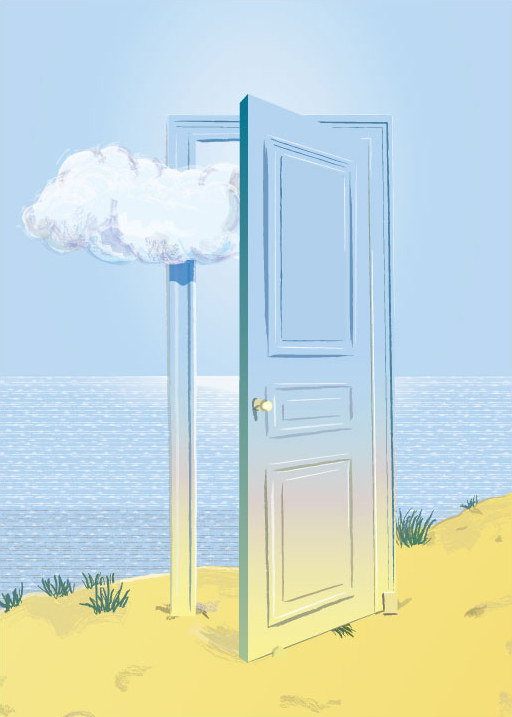 Magritte Door and Cloud by katsumi630 ... & Magritte Door and Cloud by katsumi630 on DeviantArt pezcame.com