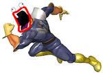 ID - Falcon firin' his lazors