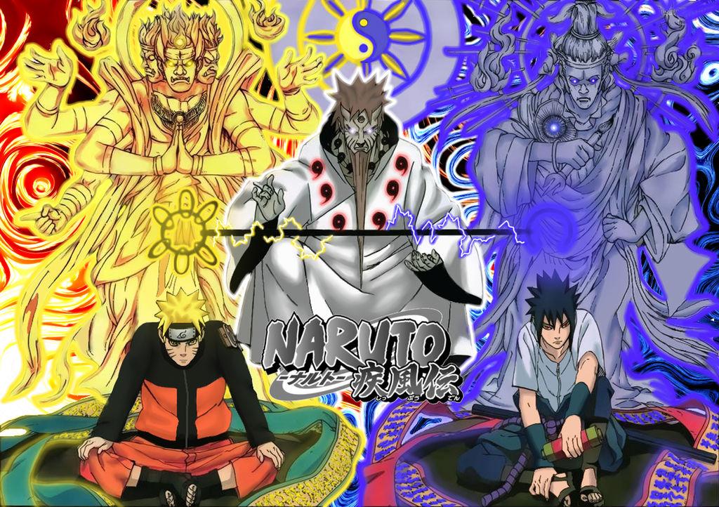 naruto  hagoromo and sasuke wallpaper by soulreaper919 d7e42kh