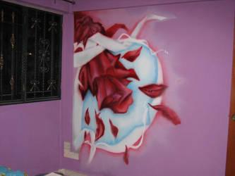 falling petals by Dmonixz