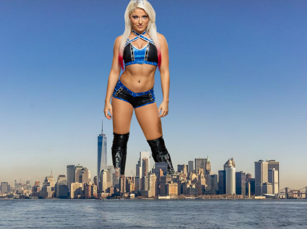 Alexa Bliss: 5(Thousand) Feet of Fury by CMWaters