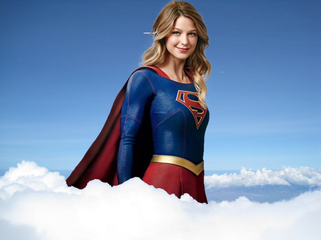 Sky High Supergirl by CMWaters