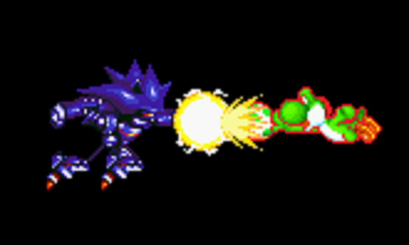 Yoshi vs mecha   Yoshi Vs Boshi