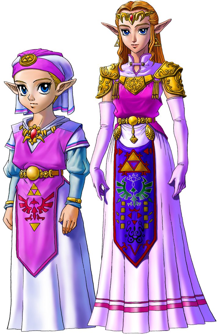 Young Zelda and Adult Zelda by Legend-tony980 ...  sc 1 st  DeviantArt & Young Zelda and Adult Zelda by Legend-tony980 on DeviantArt