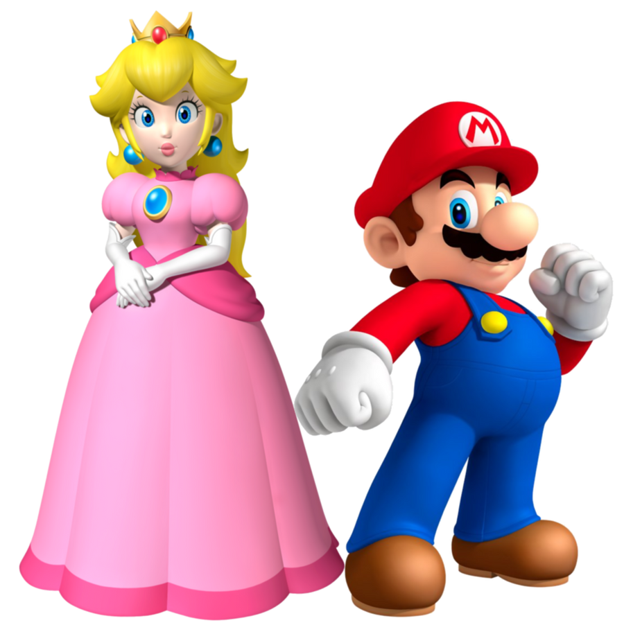 The gallery for --> Mario And Princess Peach In Love