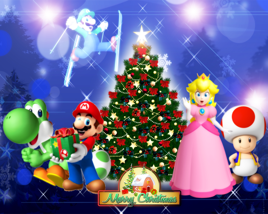 Super Mario - Merry Christmas 2011 by Legend-tony980 on ...