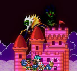 Super Mario Bros. X-2: Invasion of Sea Side by Legend-tony980
