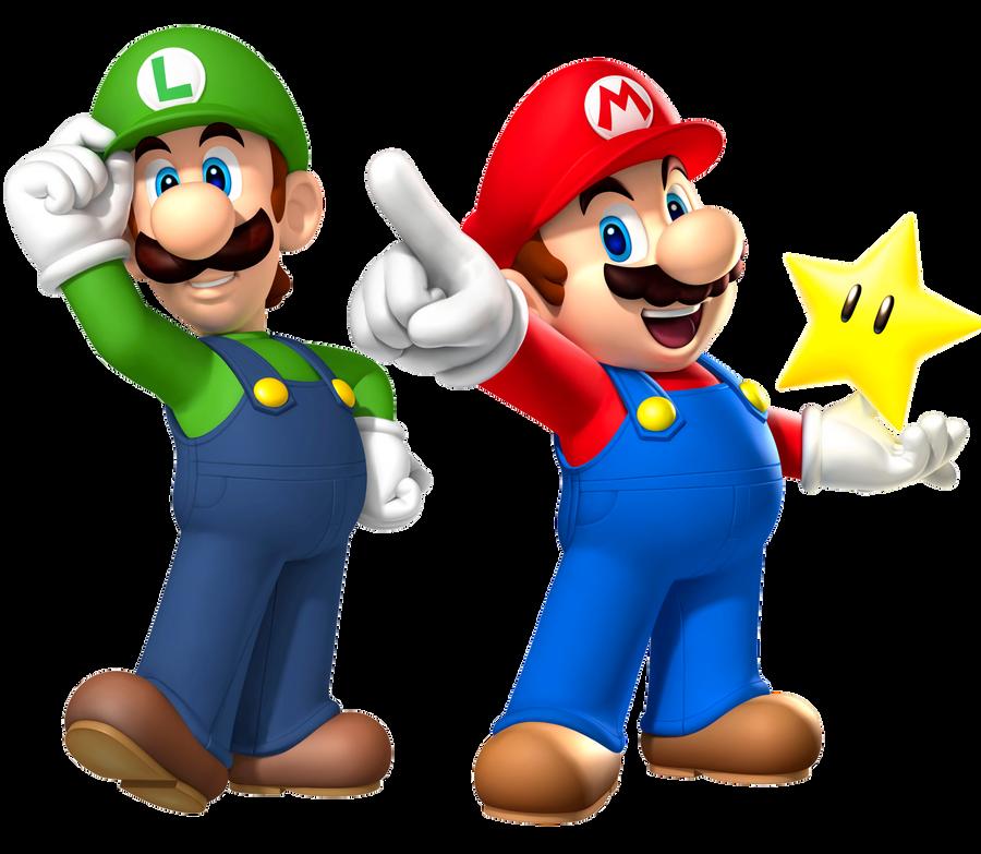 Mario and Luigi by Legend-tony980
