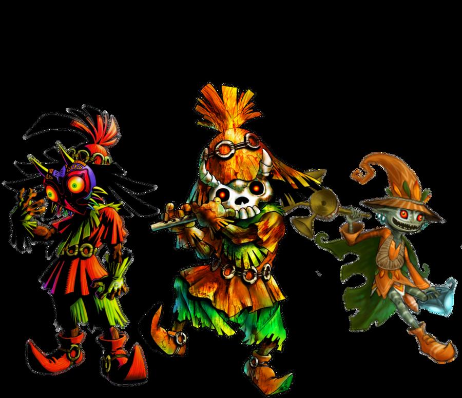 The Skull Kid's Appearances by Legend-tony980