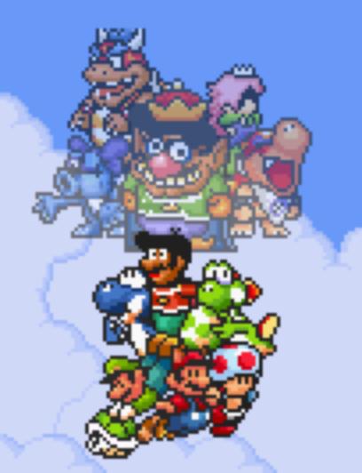 Concept of Super Mario Bros. X: Alternate Kingdom by Legend-tony980