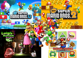 E3 2012: Upcoming Mario Games by Legend-tony980