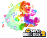 New Super Mario Bros. 2: Invincible Mario