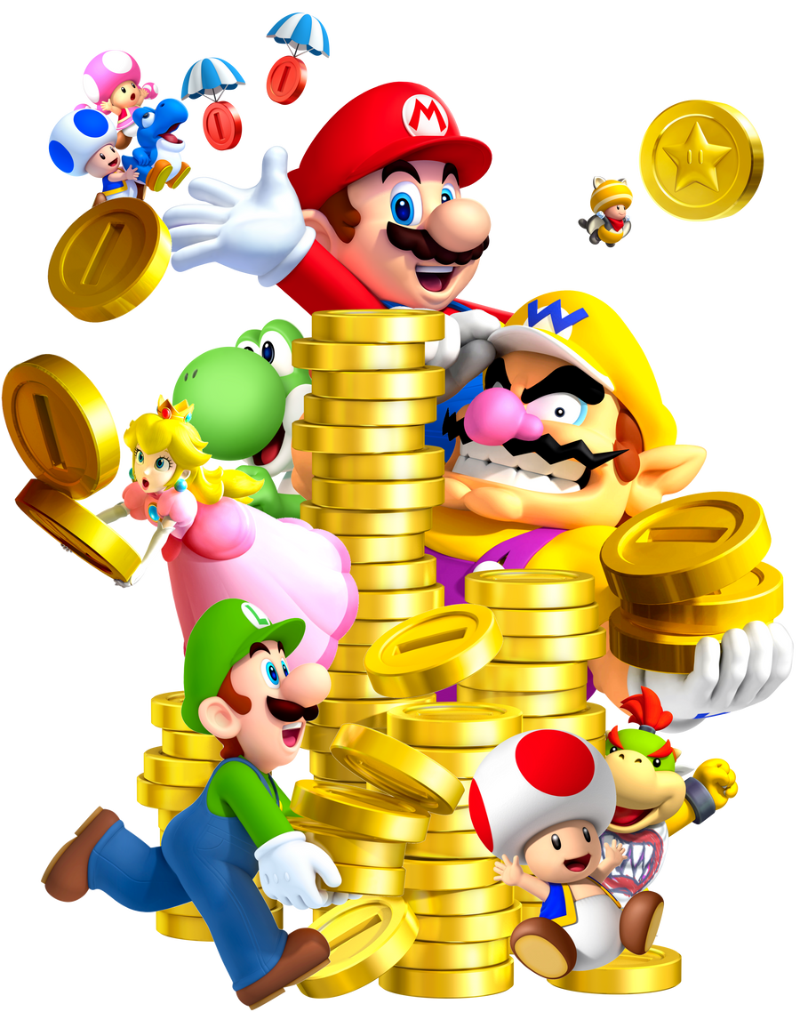 New super mario bros 2 star coins 5-5 / Adb coin news