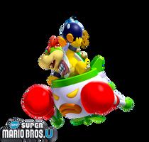 New Super Mario Bros. U: Bowser Jr. by Legend-tony980