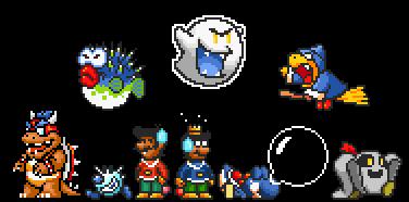 Super Mario Bros  X: Alternate Kingdom New Enemies by Legend