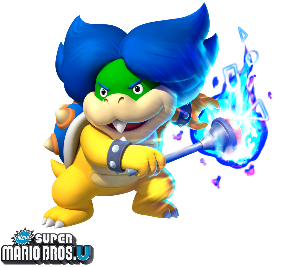 New Super Mario Bros U Ludwig Von Koopa By Legend