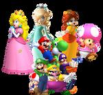 Super Mario Characters 2013