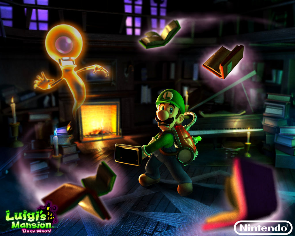 Luigi S Mansion Dark Moon 2013 Wallpaper By Legend Tony980 On