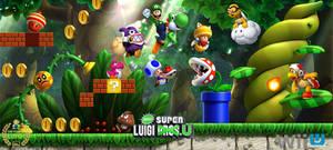 New Super Luigi U Promotional Group Artwork by Legend-tony980