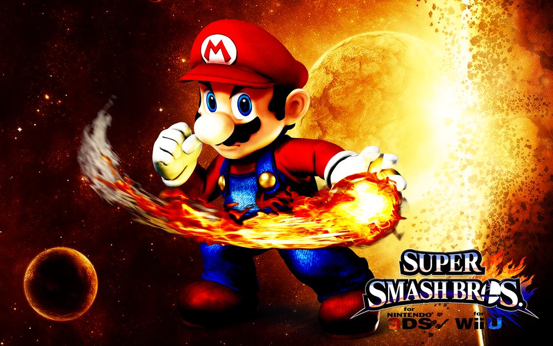Super Smash Bros. Wii U / 3DS - Mario by Legend-tony980