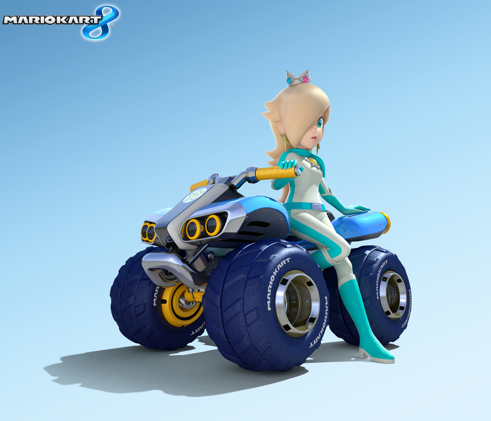 Mario Kart 8 Artwork - Rosalina by Legend-tony980 on ...