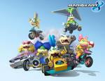 Mario Kart 8 - Here comes the Koopalings!