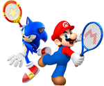 Mario and Sonic: Ultimate Tennis