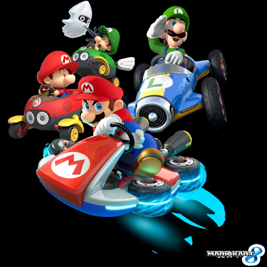 Mario Kart 8 - Mario Bros.