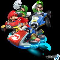 Mario Kart 8 - Mario Bros. by Legend-tony980