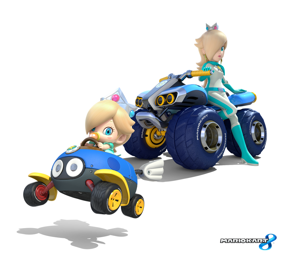 Mario Kart 8 - Cosmic Princess by Legend-tony980 on DeviantArt
