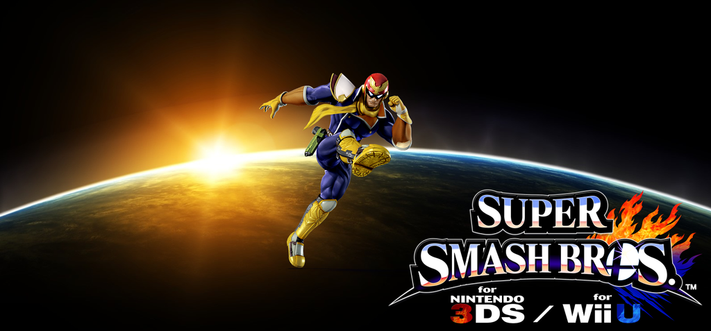 Super Smash Bros. Wii U / 3DS - Captain Falcon by Legend ...