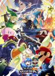 Super Smash Bros. for Nintendo 3DS / Wii U Artwork