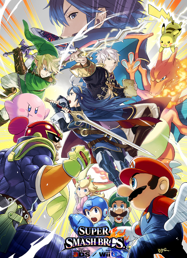 Super Smash Bros. for Nintendo 3DS / Wii U Artwork by Legend-tony980