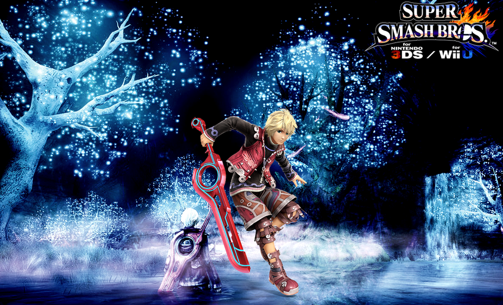 Super Smash Bros. Wii U / 3DS - Shulk by Legend-tony980 on ...
