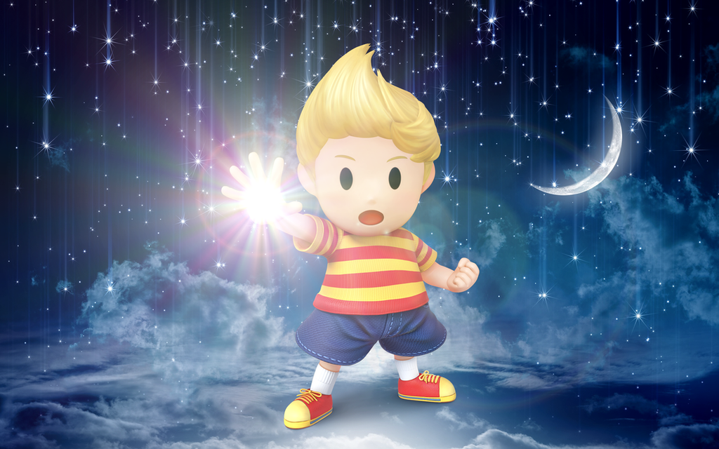 Super Smash Bros. Wii U / 3DS - Lucas (Requested) by Legend-tony980