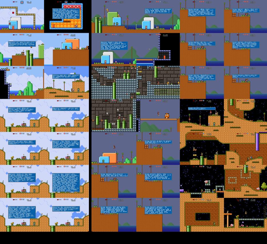 SMBX: Alternate Kingdom Present and Past timelines by Legend-tony980