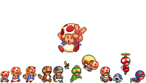New Toad Sprites Update Released!