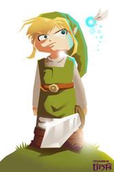 Toon Link. vector by zeldanatico