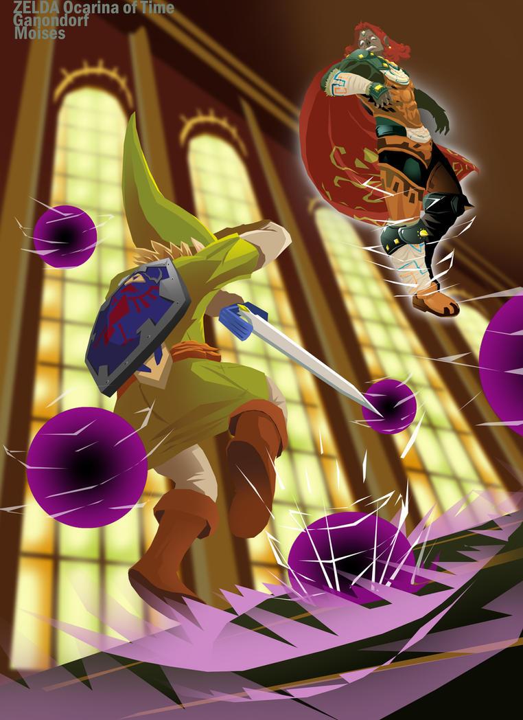 Ganondorf ZELDA Ocarina of Time 3ds by zeldanatico