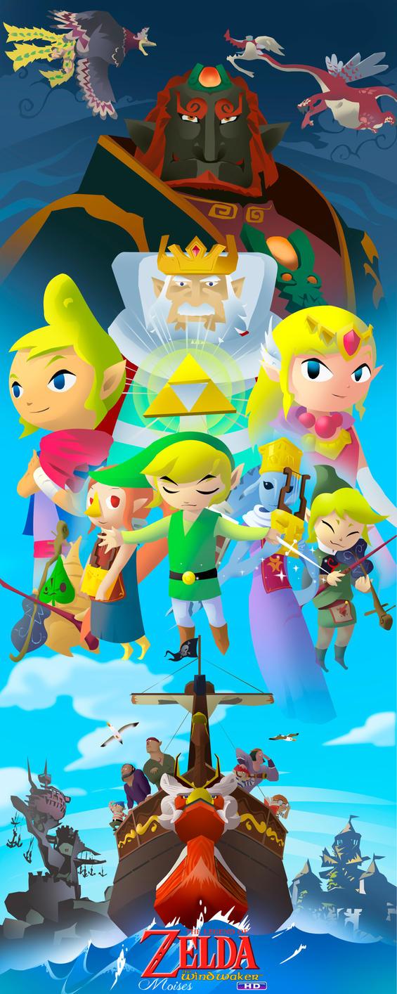 Zelda Wind Waker. Historia en el mar by zeldanatico