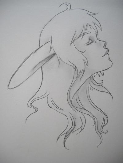 Portrait of Alice, original by Pairou
